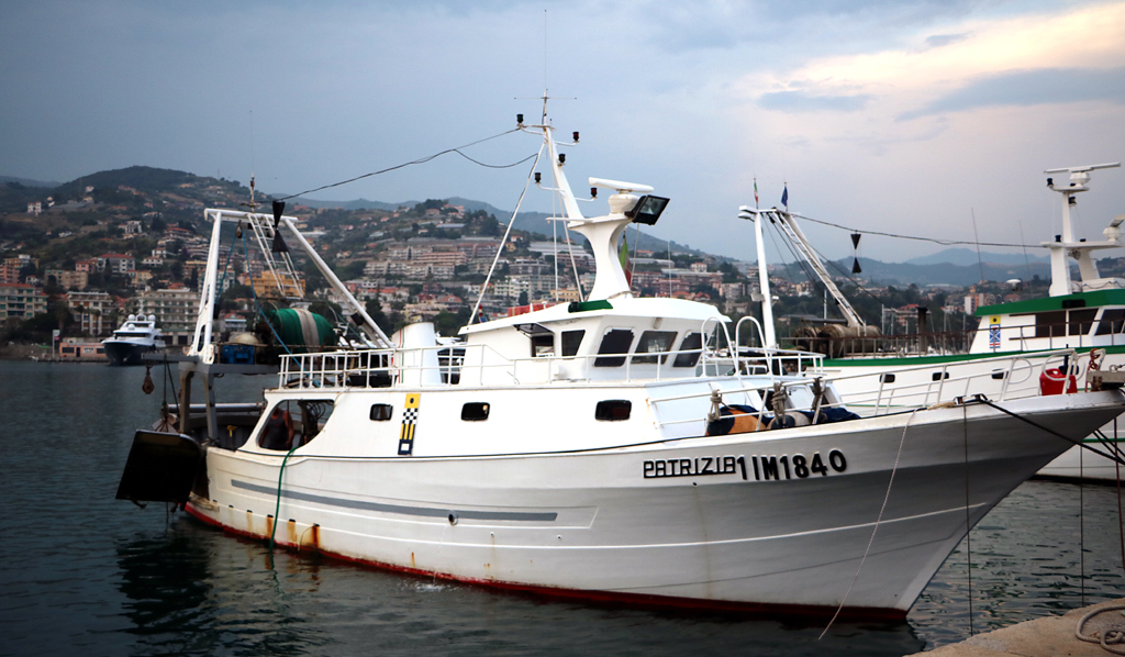 M/B Patrizia in the habour of Sanremo