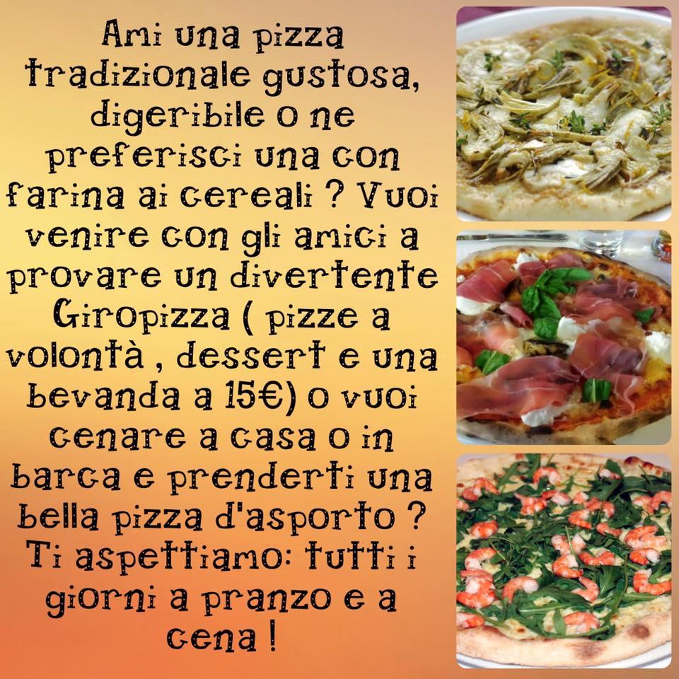 GiroPizza @Ristorante Pizzeria La Terrazza @Santo Stefano al Mare ...