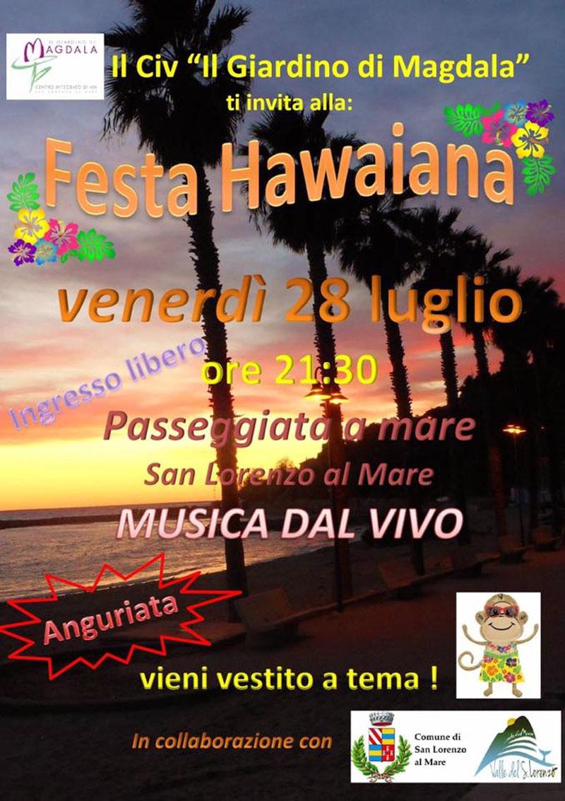 Hawaiian Party @Passeggiata a mare @San Lorenzo al Mare
