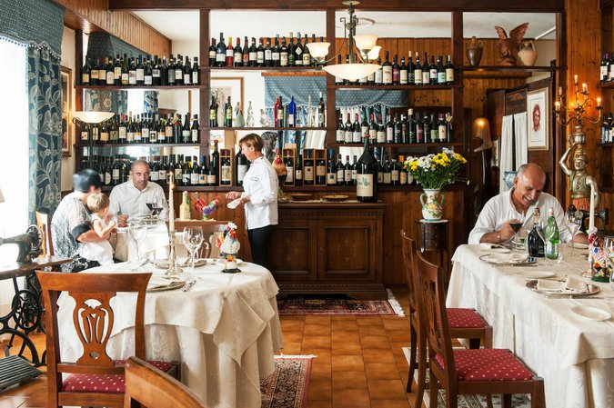 Il Gallo Della Checca restaurant. Credit Susan Wright for The New York Times