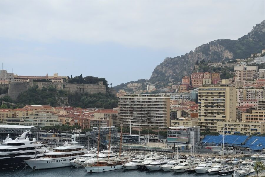One hour, three countries. Monaco is an easy day trip